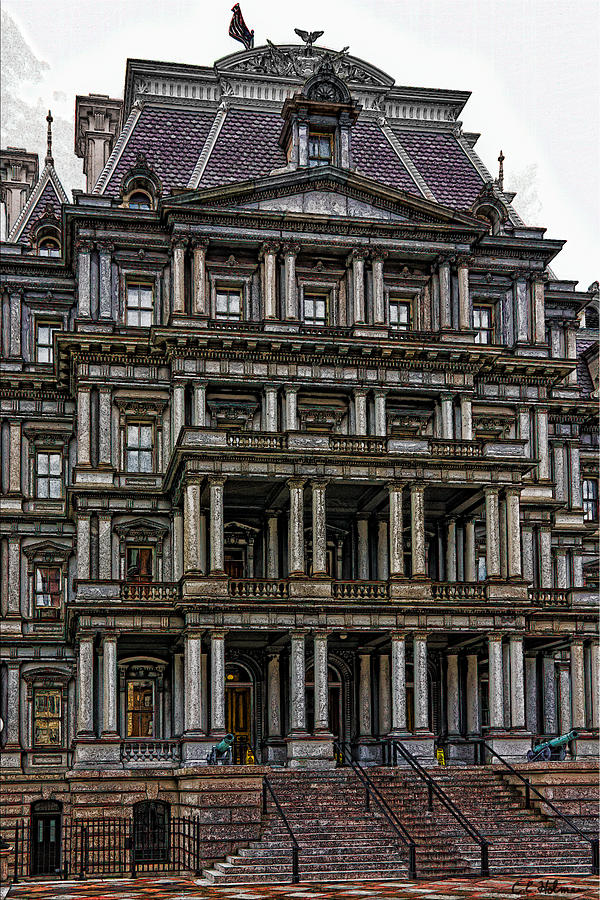 Building Photograph - Second Empire by Christopher Holmes