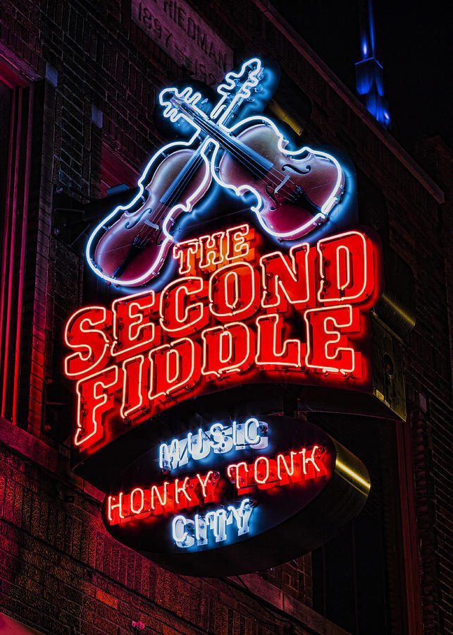Second Fiddle Photograph By Stephen Stookey