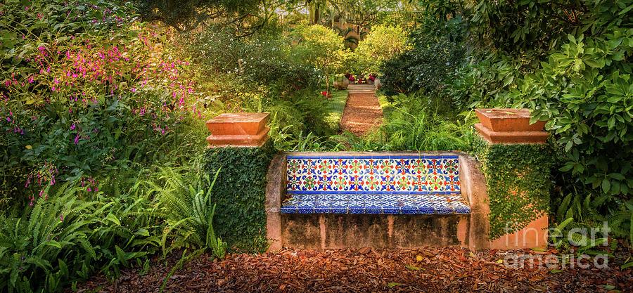 Magnificent Secret Garden Bench At Pinewood Estate Bok Tower Andrewgaddart Wooden Chair Designs For Living Room Andrewgaddartcom