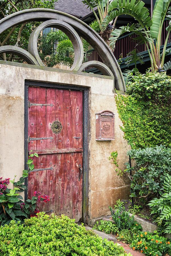Secret Garden Gate, St. Augustine, Florida by Dawna Moore Photography