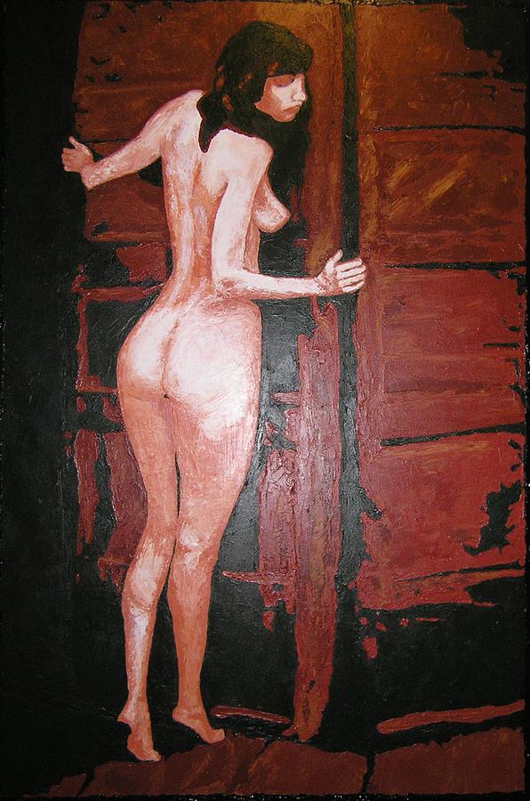 Portrait Painting - Secret by Ricklene Wren