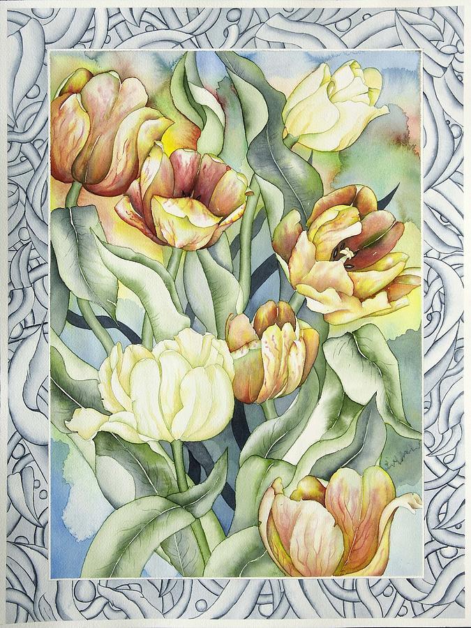 Flowers Painting - Secret World I by Liduine Bekman