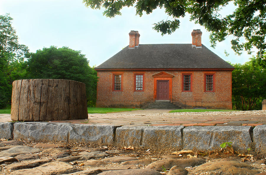 Architectural Photography Photograph - Secretary House - Williamsburg Va by Panos Trivoulides