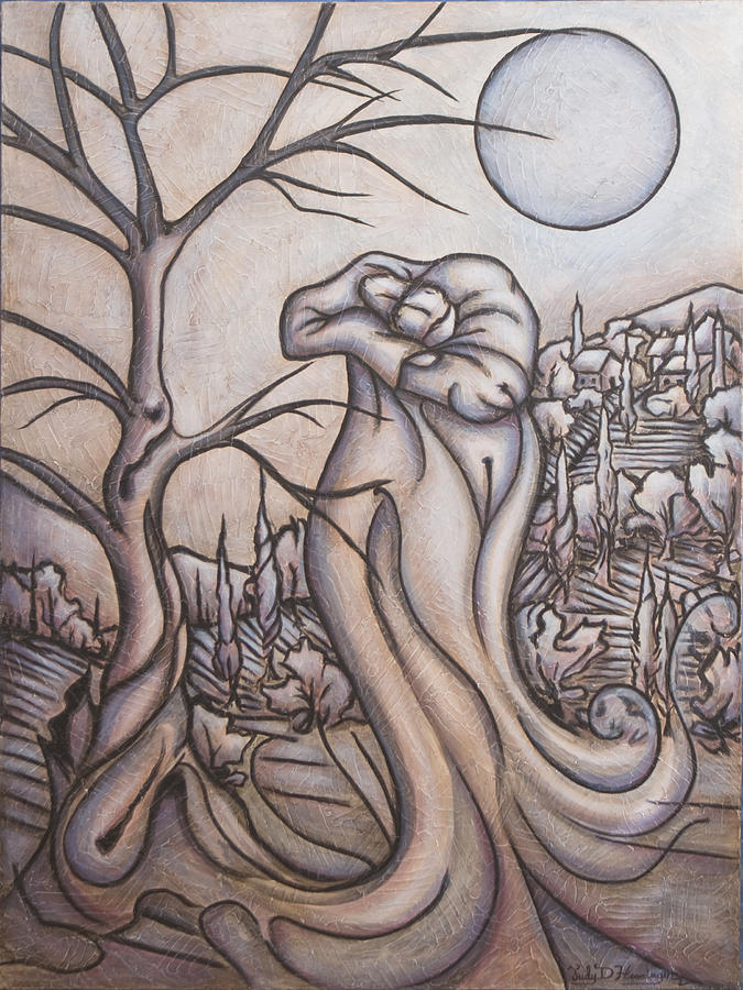 Night Painting - Secrets and Dreams by Judy Henninger