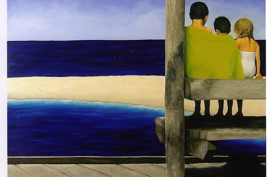 Seascape Painting - Secrets by Trisha Lambi