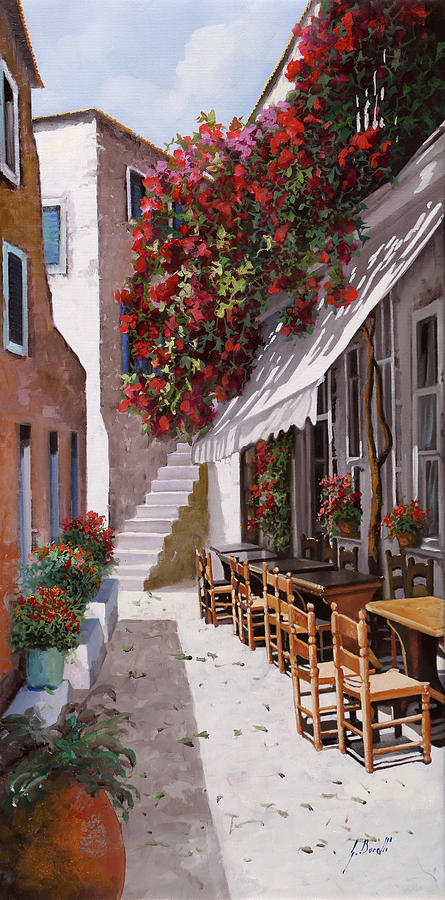 Greece Painting - Sedie E Tavoli by Guido Borelli
