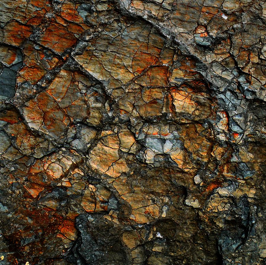 Abstract Digital Art - Sedimentary Abstract by Dave Martsolf