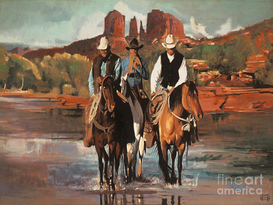 Sedona Cowboys by Michael Stoyanov