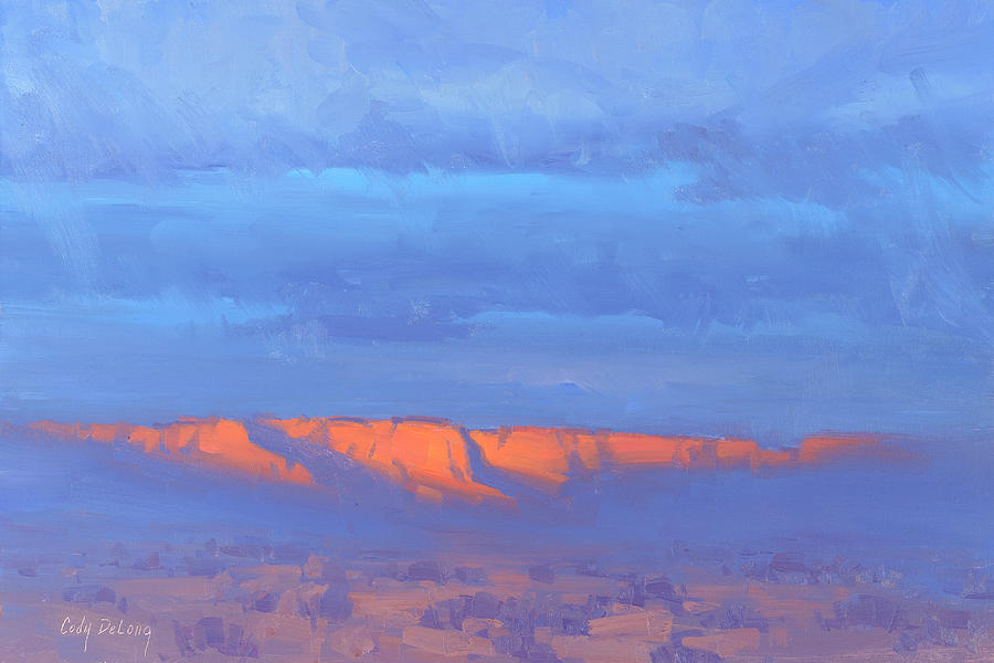 Sedona Emerging Painting