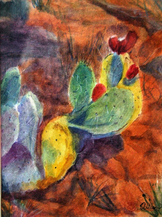 Landscape Painting - Sedona I by Stephanie Allison