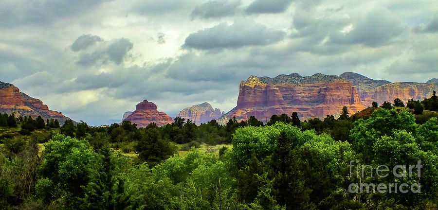 Sedona Overlook by Chandra Nyleen