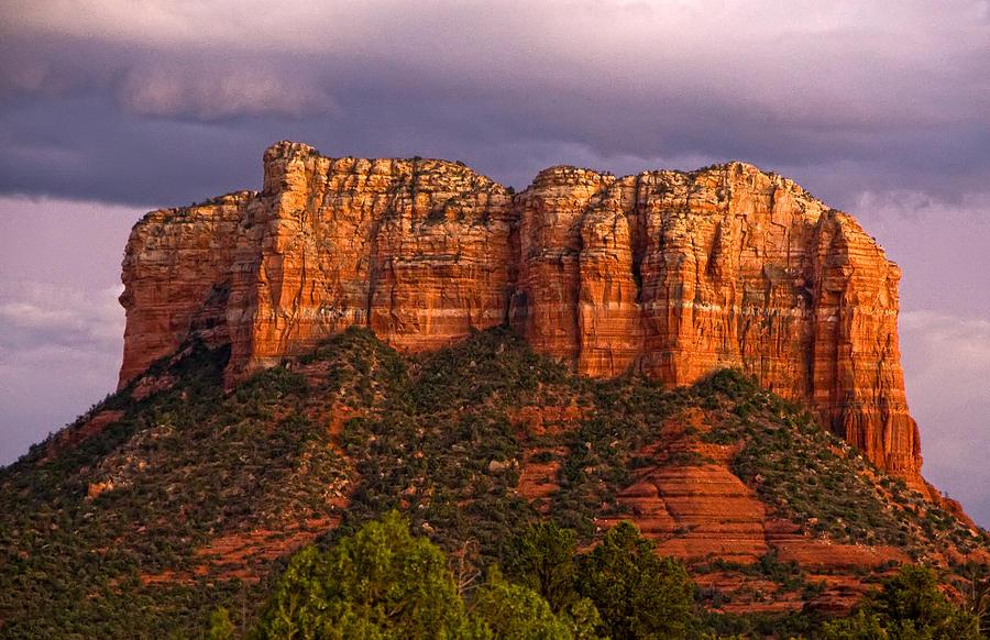 Arizona Photograph - Sedona Red Rocks by Waterdancer