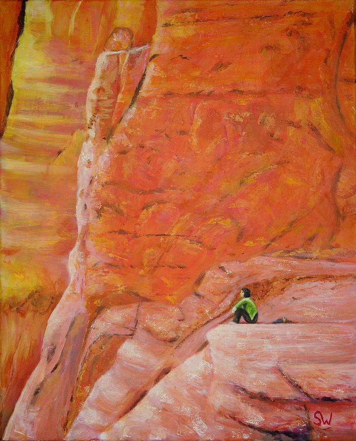 Sedona Rocks by Shirley Wellstead