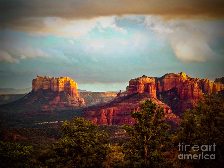 Sedona Photograph - Sedona Sunset by The Follmers