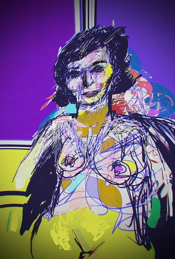 Nude Painting - Seduce Me by Noredin Morgan