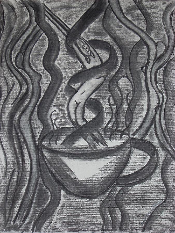Nude Drawing - Seduction by Marsha Ferguson