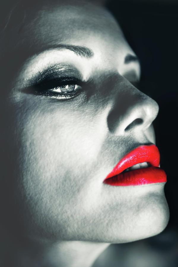 Angel Photograph - Seduction by Sotiris Filippou