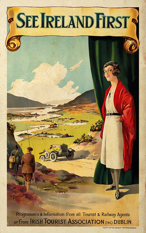 See Ireland First - Vintagelized by Vintage Advertising Posters