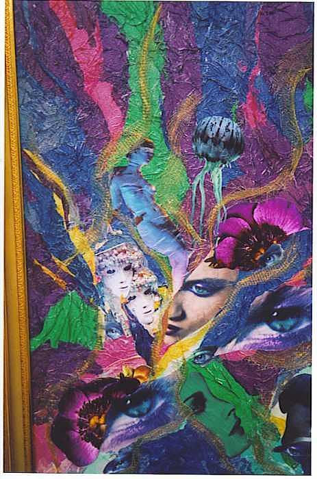 Fantasie Painting - See Me by Rani Scott