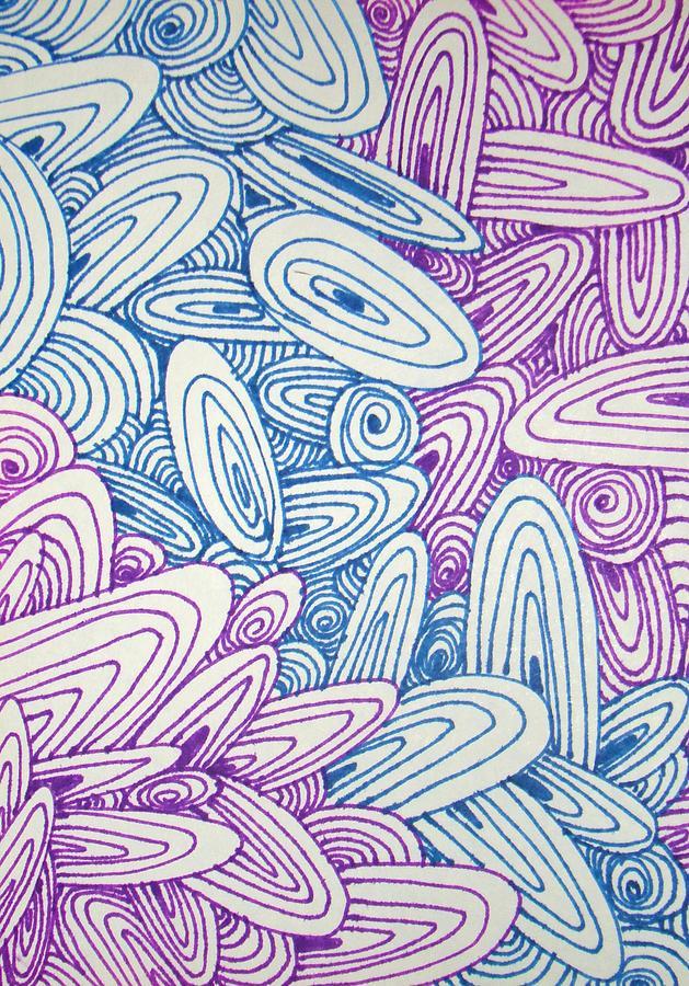Graphic Drawing - See Study Twenty by Ana Villaronga