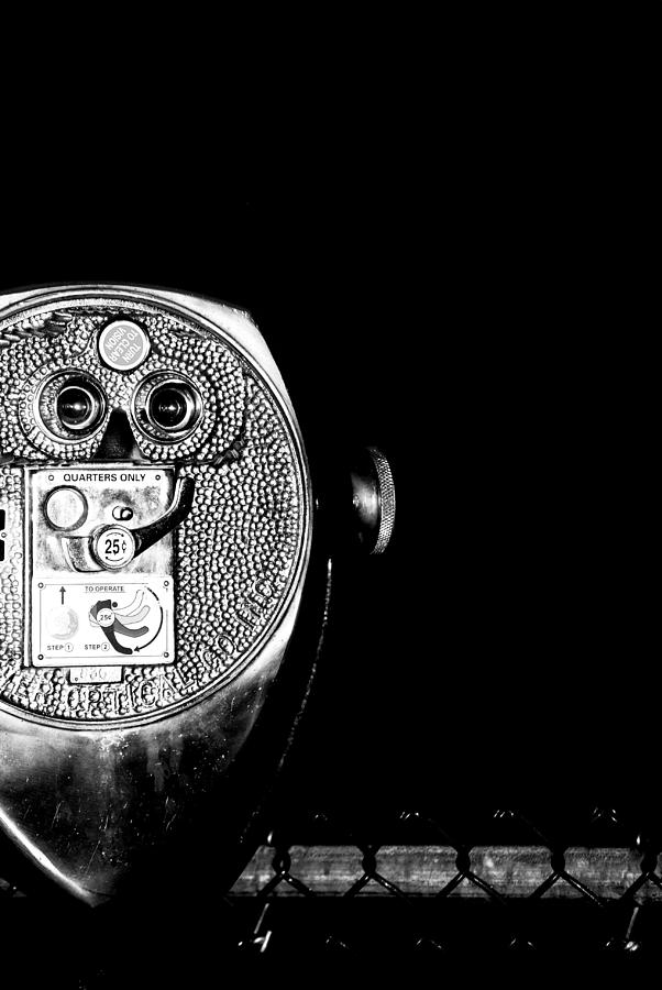 Binoculars Photograph - See The Distance by Sarah Jean Sylvester