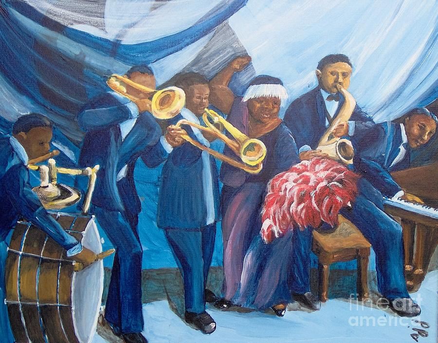 African-american Painting - See the Music by Saundra Johnson