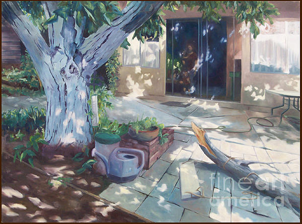 Landscape Painting - See Through Shade by Jeremiah Moore
