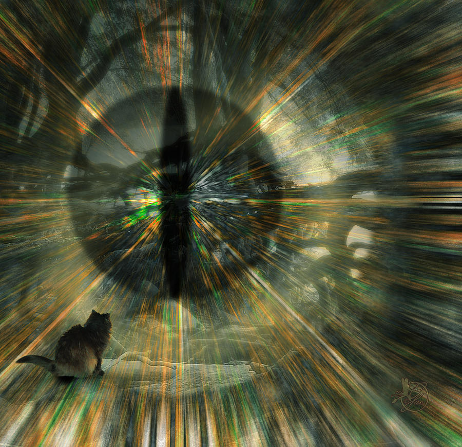 Cat Digital Art - See What I See by Gae Helton