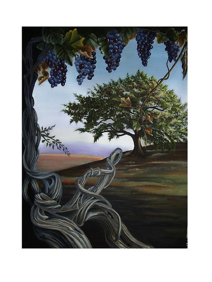 Trees Painting - Seeds Of Eden by Kathleen Romana