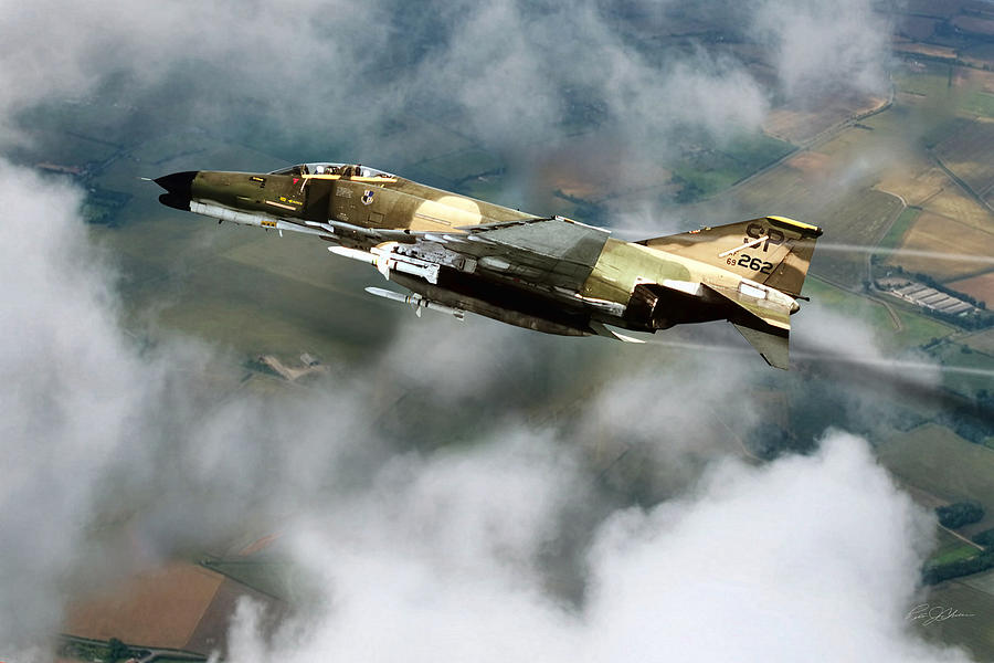 Aviation Digital Art - Seek Attack Destroy 262 by Peter Chilelli