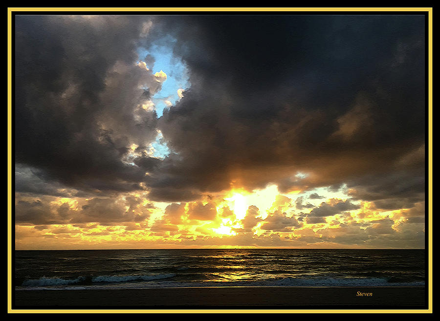 Ocean Photograph - Seeking The Day by Steven Lebron Langston