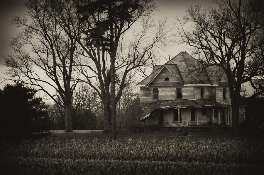 Abandoned Photograph - Seen Better Days by Off The Beaten Path Photography - Andrew Alexander