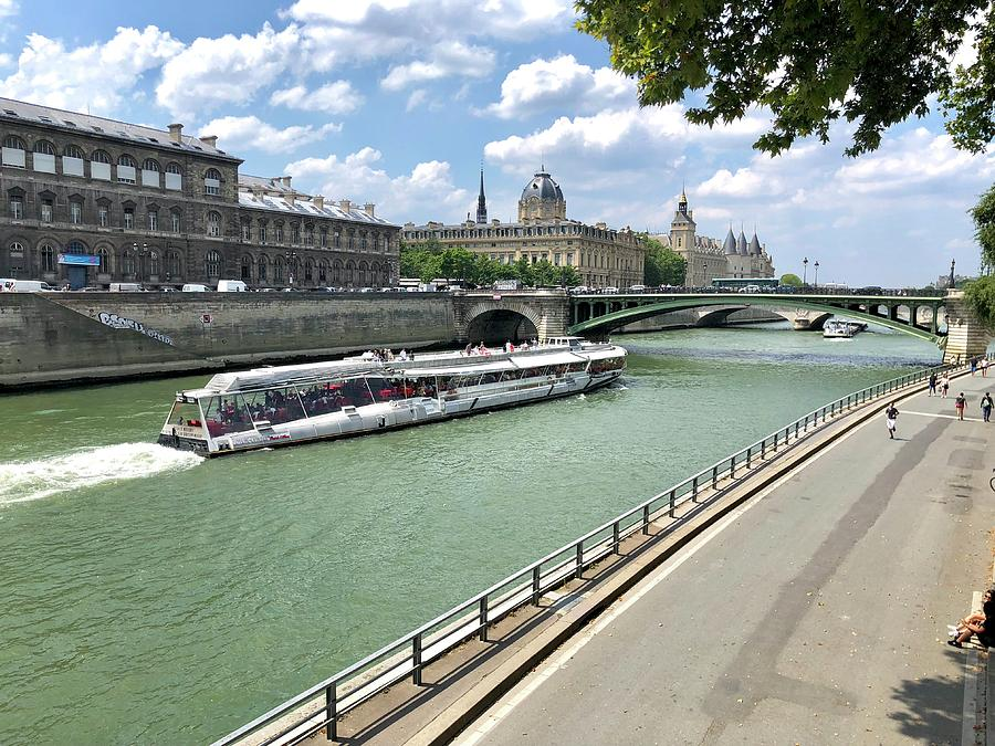 River Seine in Paris by Charles Kraus