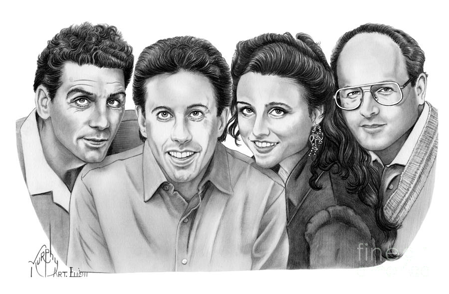 Seinfeld Cast by Murphy Elliott