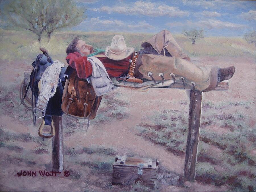 Select Comfort Painting by John Watt
