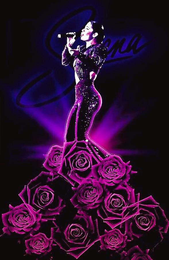 Selena Quintanilla Perez Digital Art By Fernando Lara