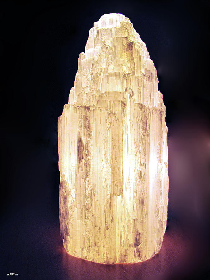 Selenite Crystal Photograph