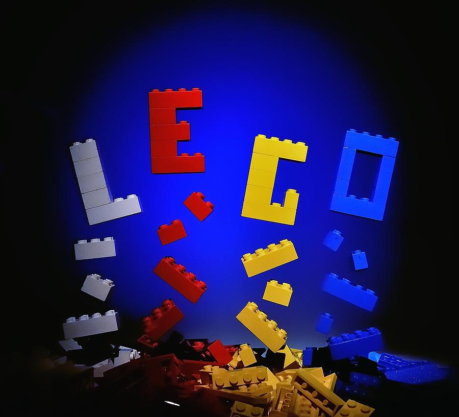Lego Photograph - Self-assembly by Mark Fuller