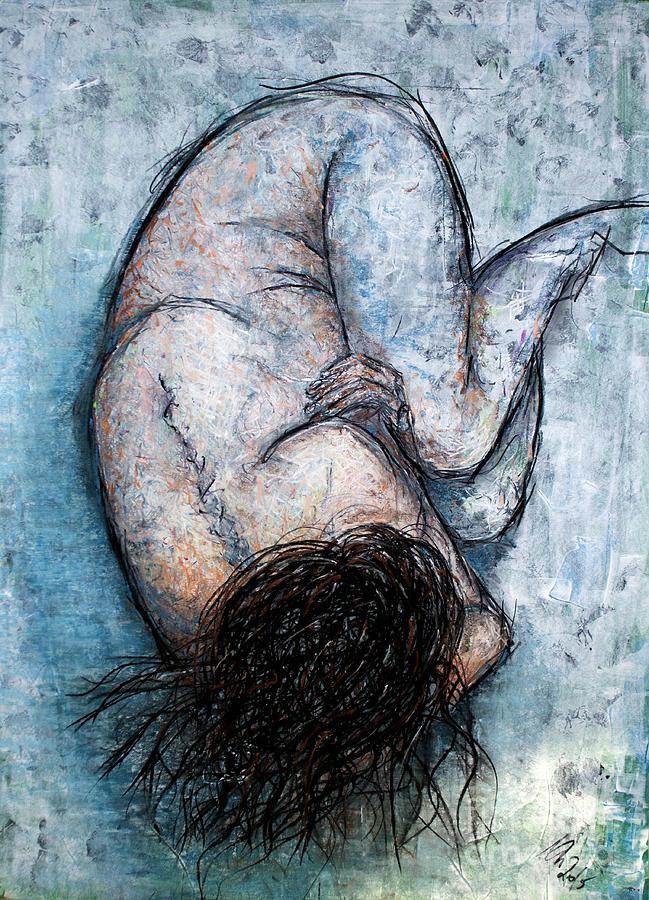 Self-hug by Nicole Philippi