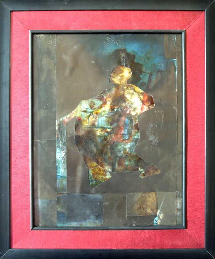 Painting Painting - Self I by Sana Horani