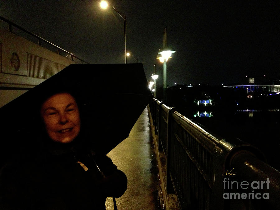 Rm Photograph - Self Portrait 12 - Sheila New Years Eve Austin by Felipe Adan Lerma