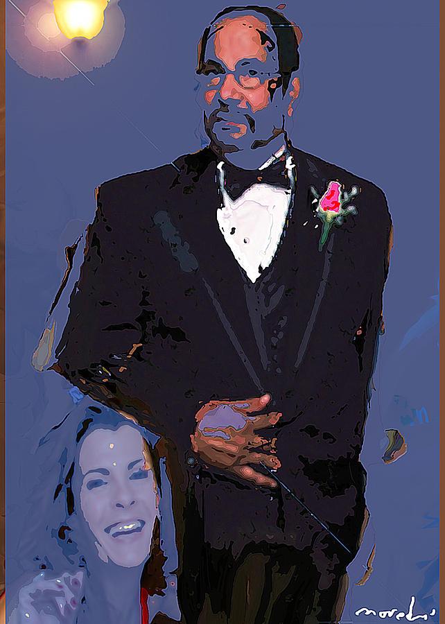 Self Portrait 2408 Digital Art by Noredin Morgan