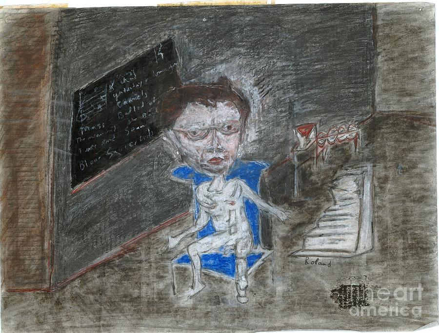 Van Gogh Pastel - Self Portrait by Caliban Strange