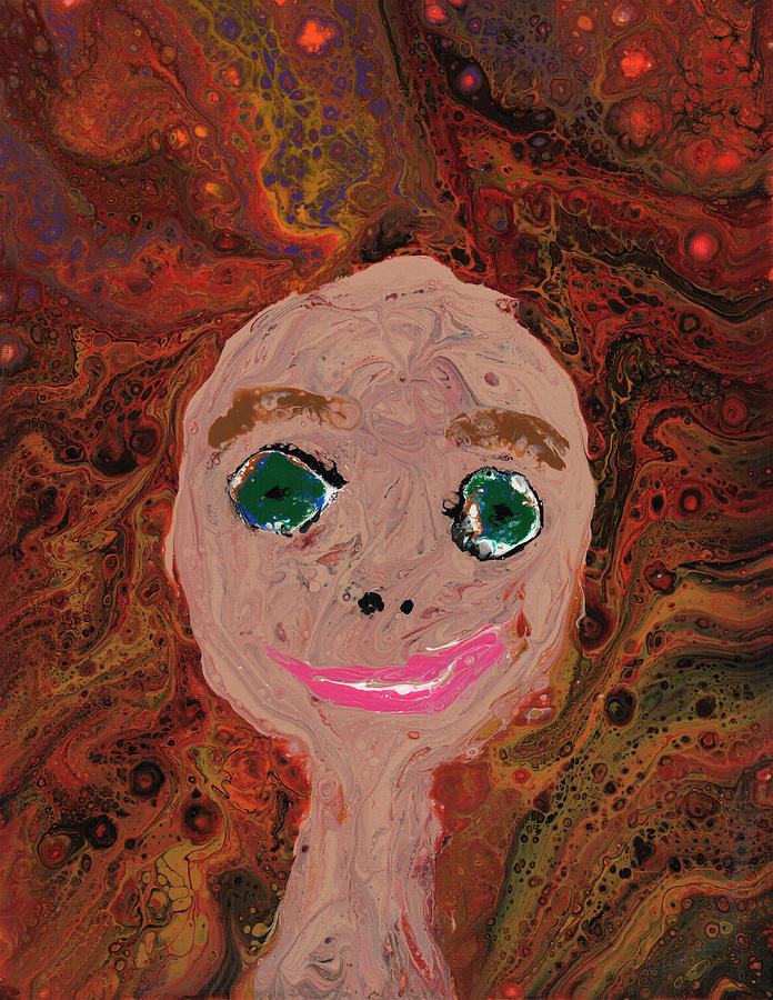 Self Portrait by Catherine G McElroy