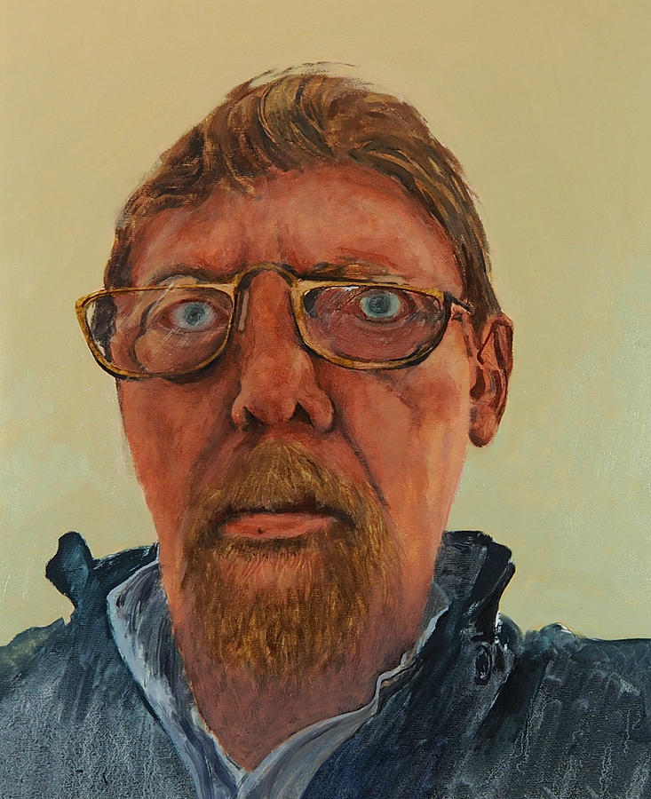 Self Portrait by E Colin Williams ARCA
