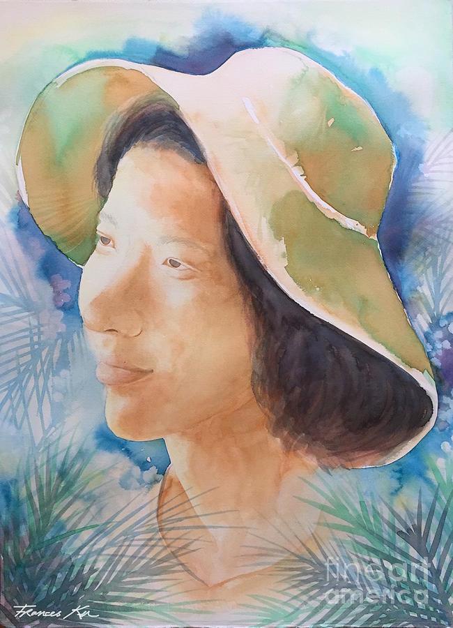 Self Portrait by Frances Ku