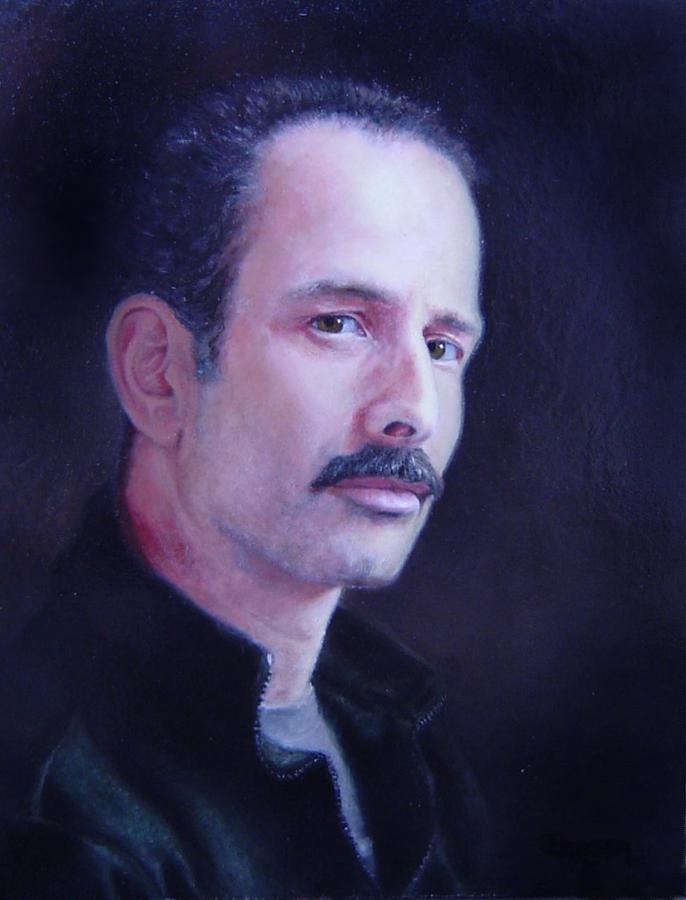 Self Portrait Painting - Self Portrait by James Berger