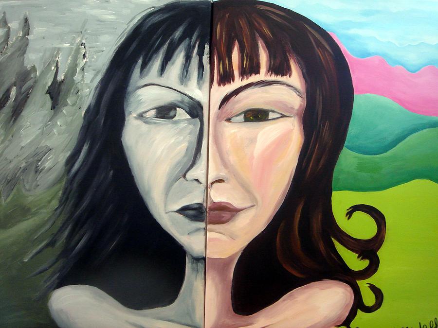 Portrait Painting - Self-portrait by Jenni Walford