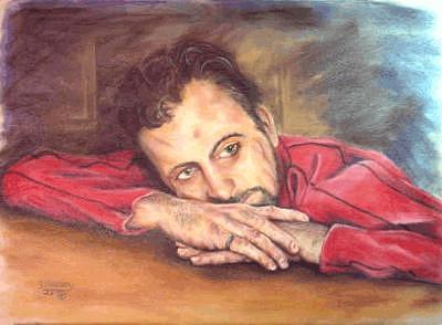 Self Portrait Painting by Joe Harvey