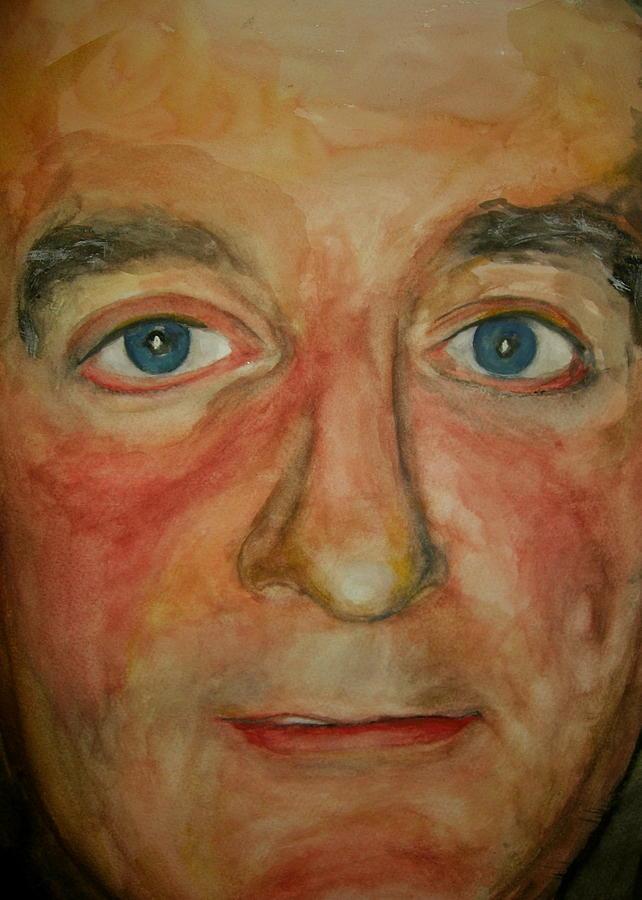 Self Portrait Painting by Joel Zelikovitz